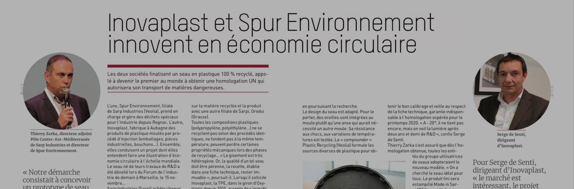 Innovation & économie circulaire.